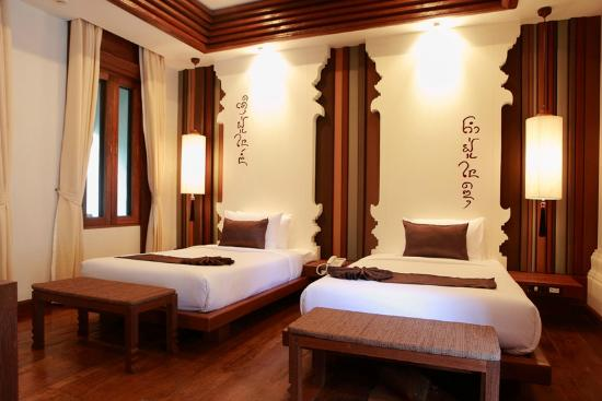 Sibsan Luxury Hotel Rimping Chiangmai : Deluxe Twin