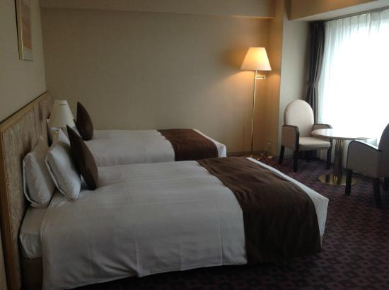ANA Hotel Sapporo: Beds
