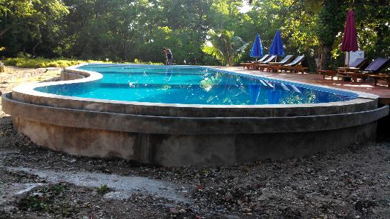 Two Fish Divers Bunaken: New Two Fish Swimming Pool to 3 meters for Dive Training