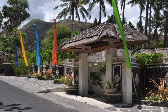 Palm Garden Amed Beach & Spa Resort: Front entrance