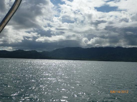 Montezuma Crew: View from the boat