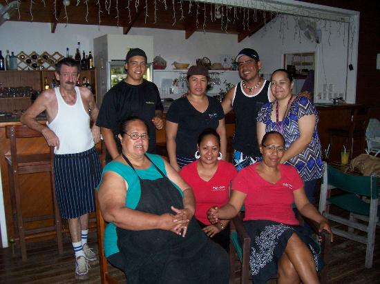 Palm Grove: The loverly people that looked after us so very much, they are all adorable!!