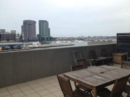 Docklands Private Collection of Apartments: View from courtyard