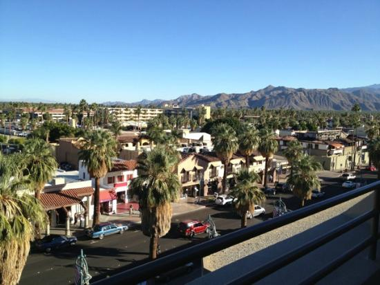 Hyatt Palm Springs: View from city view room