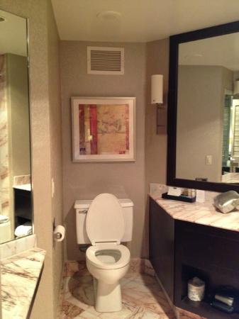 Hyatt Palm Springs: Bathroom & toilet