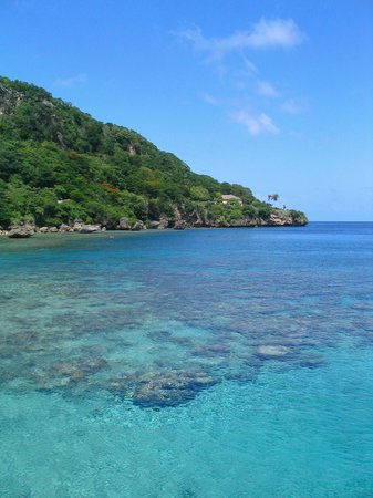 Pulau Christmas, Australia: Flying Fish Cove, Christmas Island