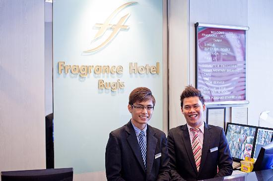 Fragrance Hotel - Bugis: Hotel Lobby