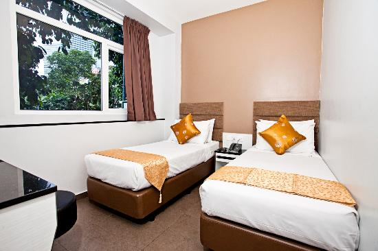 Fragrance Hotel - Bugis: Superior Twin Room