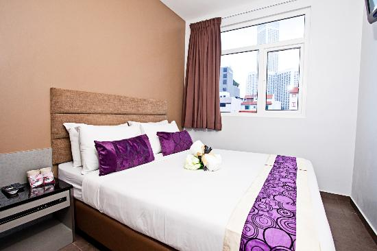 Fragrance Hotel - Bugis: Deluxe Double Room