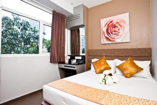 Fragrance Hotel - Bugis : Deluxe Double Room