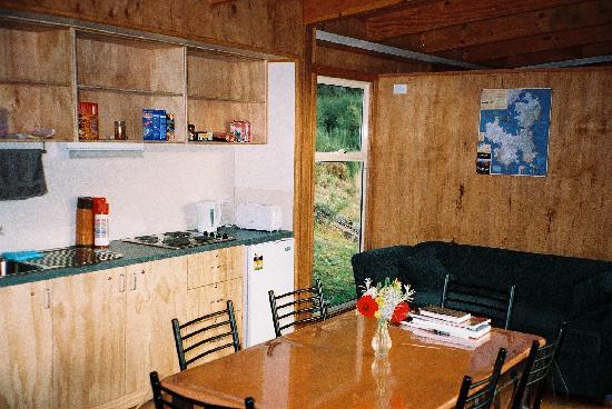 Tasmanian Wilderness Experiences - Base Camp Tasmania: Family Cabin Interior View