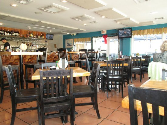 The Island Grille & Raw Bar : a view of the restaurant.