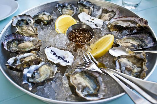 The Oyster Inn: Such a beautiful sight!