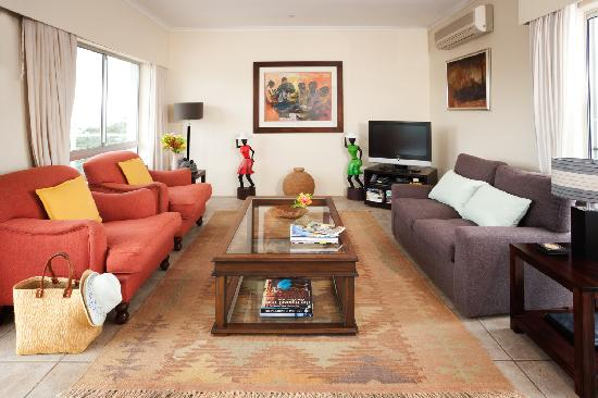 Anlin Beach House: Living room of Luxury apartment