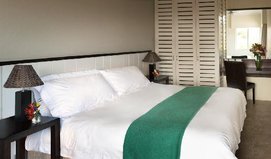 Anlin Beach House: Bedroom of Garden suite 1