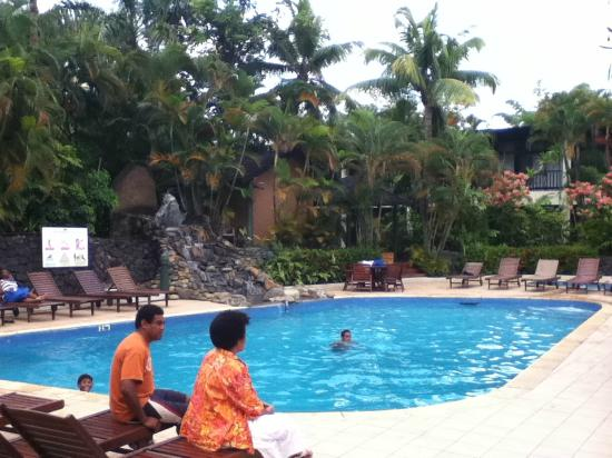 Tanoa International Hotel pool