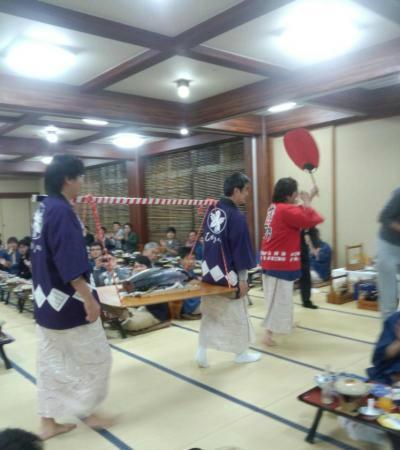 Higaki Hotel: maguro!