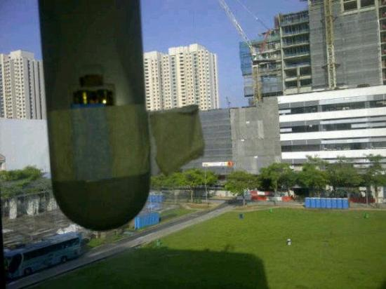 Claremont Hotel Singapore: atap kamar mandi