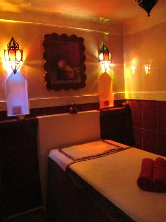 Riad Les Jardins Mandaline: salle de massage