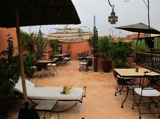 Riad Les Jardins Mandaline: terrasse