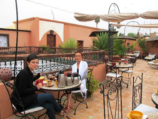 Riad Les Jardins Mandaline: les petits dejs