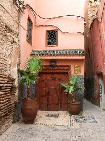 Riad Les Jardins Mandaline: l'entrée