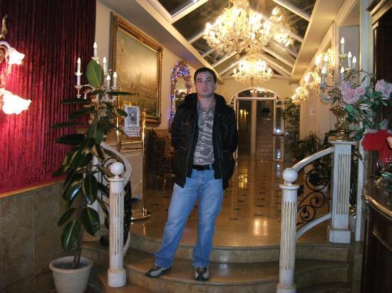 Hotel Belle Epoque: Вестибюль