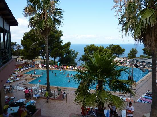 Sun Club Eldorado: La piscine principale où se déroulent les activités