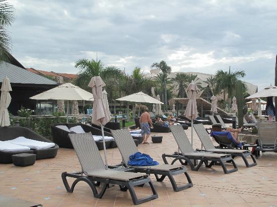 H10 Playa Meloneras Palace: Coin relax avec vue sur la mer