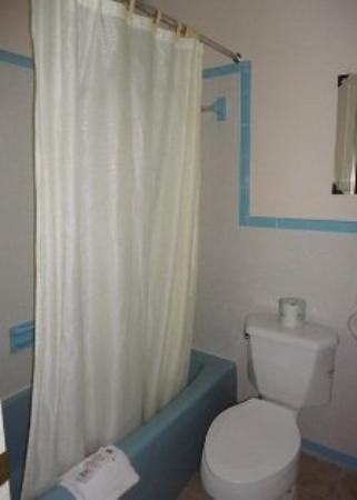 Budget Inn Williamsburg: Bathroom