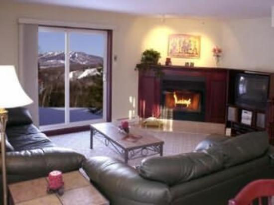Residences Mont-Tremblant: Living Room