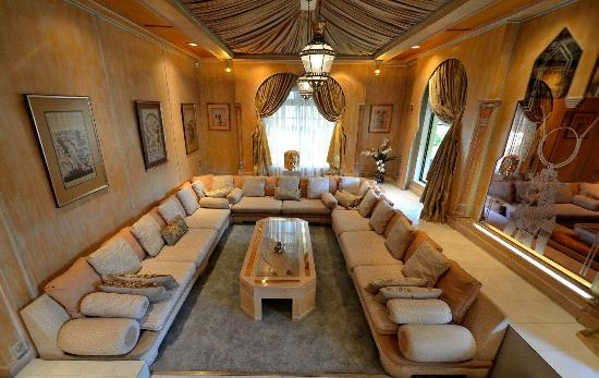 House of Pharaohs Boutique Guesthouse & Conference Centre: Lounge area