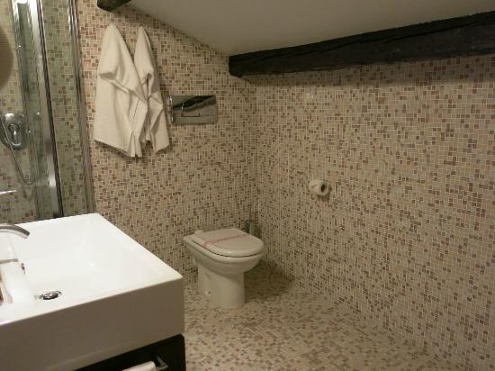 Hotel Alle Guglie: bathroom