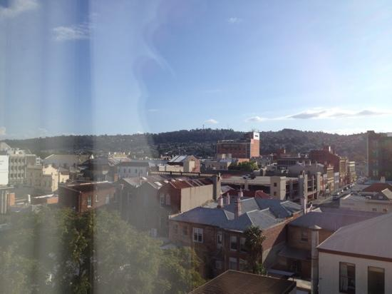 Hotel Grand Chancellor Launceston: view over town