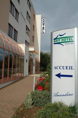 Brit Hotel Nantes La Beaujoire - L'Amandine : Exterior