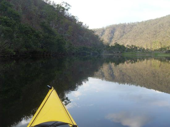 Clarence River Wilderness Lodge: lovely way to start a day....