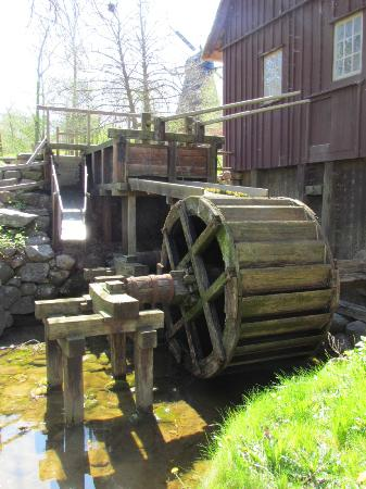 The Open Air Museum: Water mill