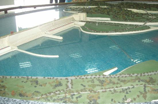 Three Gorges Dam Project: Model of Three Gorges Dam