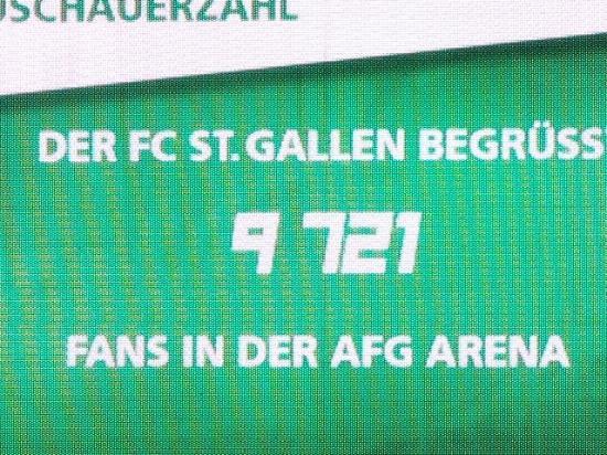 AFG Arena: Nahezu leere Ränge, auch wenn der zweimalige Deutsche Meister kommt!