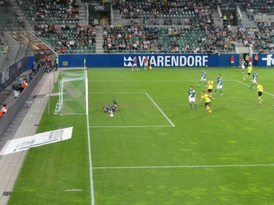 AFG Arena: FC St. Gallen gegen den Verein aus der Nähe von Lüdenscheid.