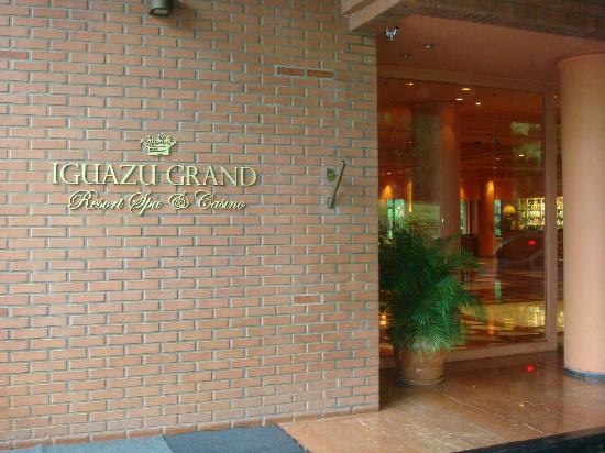 Iguazu Grand Resort, Spa & Casino : frente