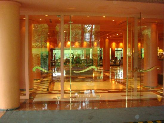 Iguazu Grand Resort, Spa & Casino : hotel frente , loby
