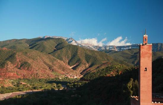 Kasbah Omar: view from Kasbah