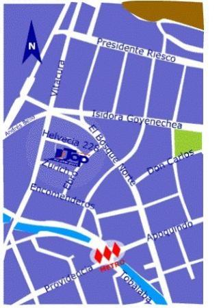 Top Apart Hotel : Map