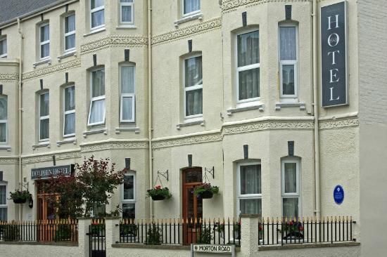 The Dolphin Hotel Exmouth: Hotel Front
