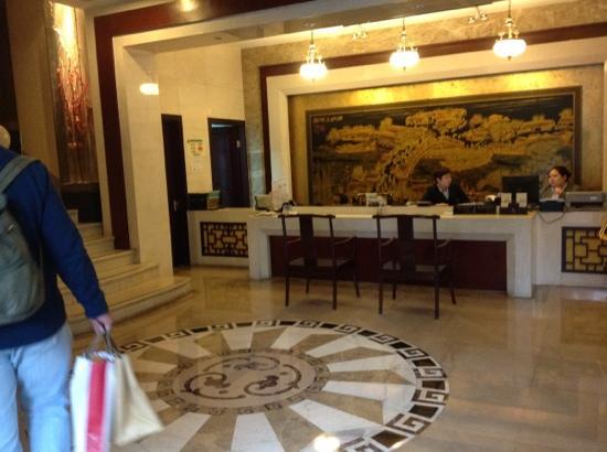 Royal Court Hotel Shanghai: reception at Royal Court Hotel