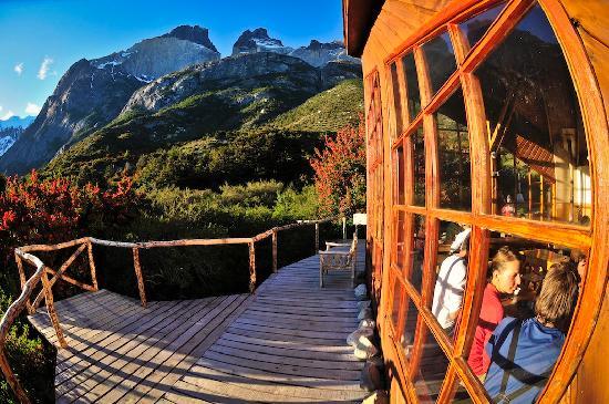 Refugio, Camping and Cabins Los Cuernos