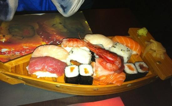Chan Sushi Bar: la barca