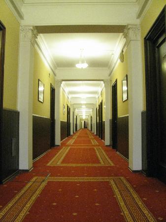 Peking Hotel : corridoio delle stanze