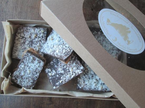 New Moon Magick - Enchanted Chocolates: Enchanted Chocolates' Almond Butter Crunch